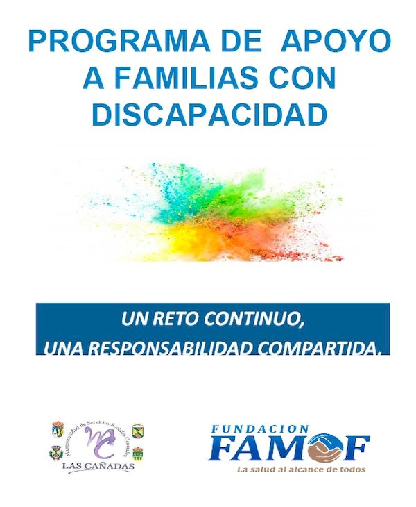 Programa de apoyo a familias con discapacidad Fundación Actualfisio famof